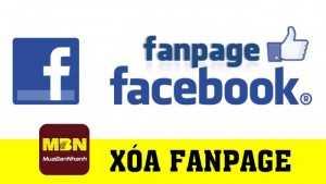 Hướng dẫn xóa fanpage Facebook