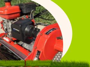 Mua bán máy cắt cỏ Honda 4 thì cũ giá rẻ, hàng Nhật bãi cắt cỏ sân Golf, sân bóng cỏ tự nhiên