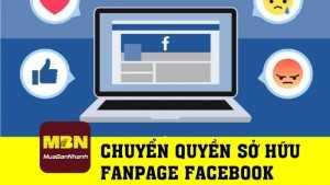 Hướng dẫn thay đổi sở hữu trang fanpage Facebook
