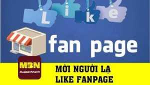 Hướng dẫn mời người lạ like fanpage Facebook