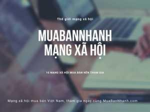 Các mạng xã hội đồng hành cùng MuaBanNhanh