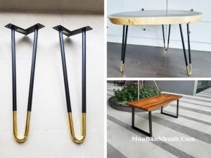 Các kiểu chân bàn sắt đẹp, có sơn tĩnh điện - Địa chỉ mua chân bàn sắt Hairpin, làm việc, cafe, mỹ thuật, nghệ thuật TPHCM