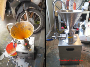Mua bán máy nghiền tương ớt, xay ớt làm tương - sản xuất, chiết rót tương công nghiệp