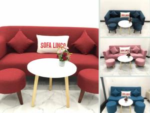 Giá bàn ghế sofa đơn, full set ghế sofa giường 2 tay vịn bật nằm đa năng cho nội thất phòng khách nhỏ gọn, căn hộ chung cư
