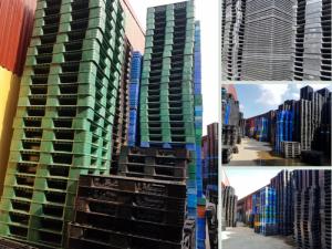 Nhà nhập khẩu, mua bán, phân phối Pallet nhựa mới (nhập khẩu), Pallet nhựa cũ, Pallet nhựa ngoại cũ (95%) Bắc Ninh trên MuaBanNhanh