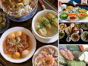 Xử lý thức ăn thừa sau Tết tránh lãng phí