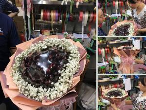 Cách làm bó hoa Cherry - Nhanh dễ dàng với mẹo để bó hoa trái cây tròn đẹp xuất sắc từ MKnow