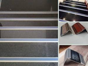 Giá nẹp nhôm chống trượt cầu thang - Địa chỉ phân phối, đối tác thi công báo giá tại Hà Nội