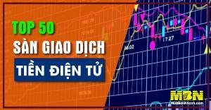 Top 50 sàn giao dịch tiền điện tử