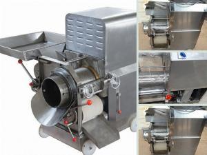 Bán máy tách xương cá công nghiệp loại nhỏ giá rẻ - chế biến thịt cá rô phi, cá lóc, cá cơm, cá thác lác làm chả, phi lê