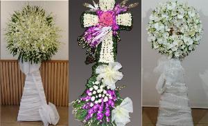 Điện vòng hoa đám tang Công Giáo TPHCM - Thành kính phân ưu và chia buồn cùng gia đình