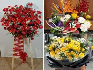 Điện hoa chúc mừng ngày truyền thống Công an nhân dân 19/8 TPHCM