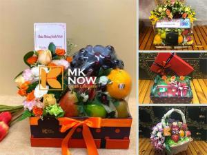 Trái cây tặng sinh nhật - Giỏ trái cây, hộp quà hoa tươi làm quà tặng TPHCM