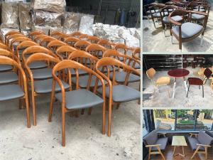 Top mẫu bàn ghế cafe đẹp, hiện đại - phong cách mộc The Coffee House, Highlands Coffee, Phúc Long Coffee & Tea